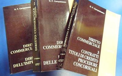 Campobasso diritto commerciale: schemi e schede